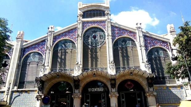 Mercat Central in Valencia