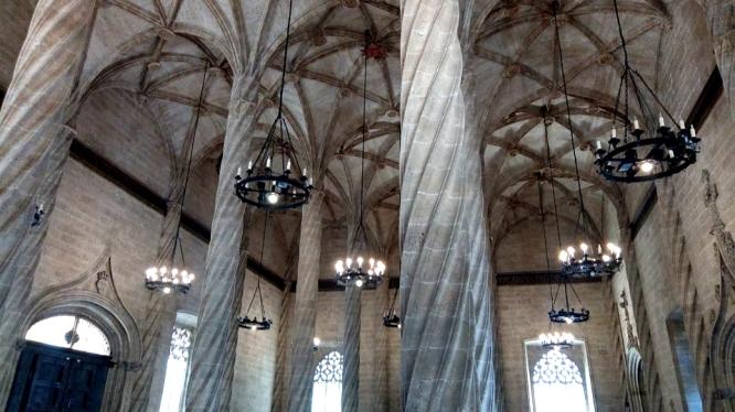 Inside the Lonja